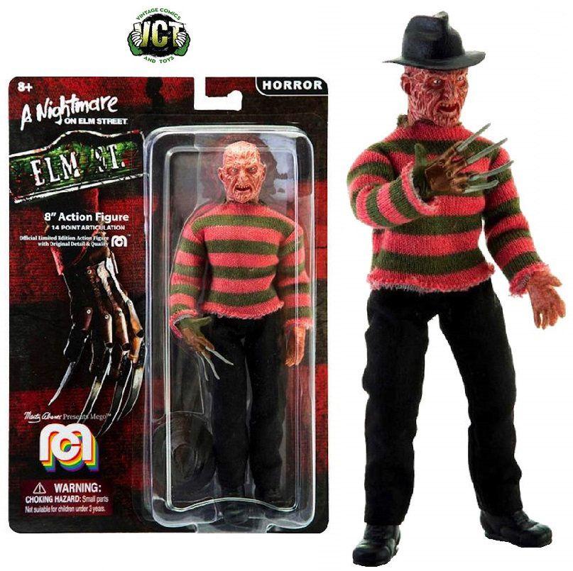 Mego Action Figure Freddy Krueger 20cm Oficial Licenciado
