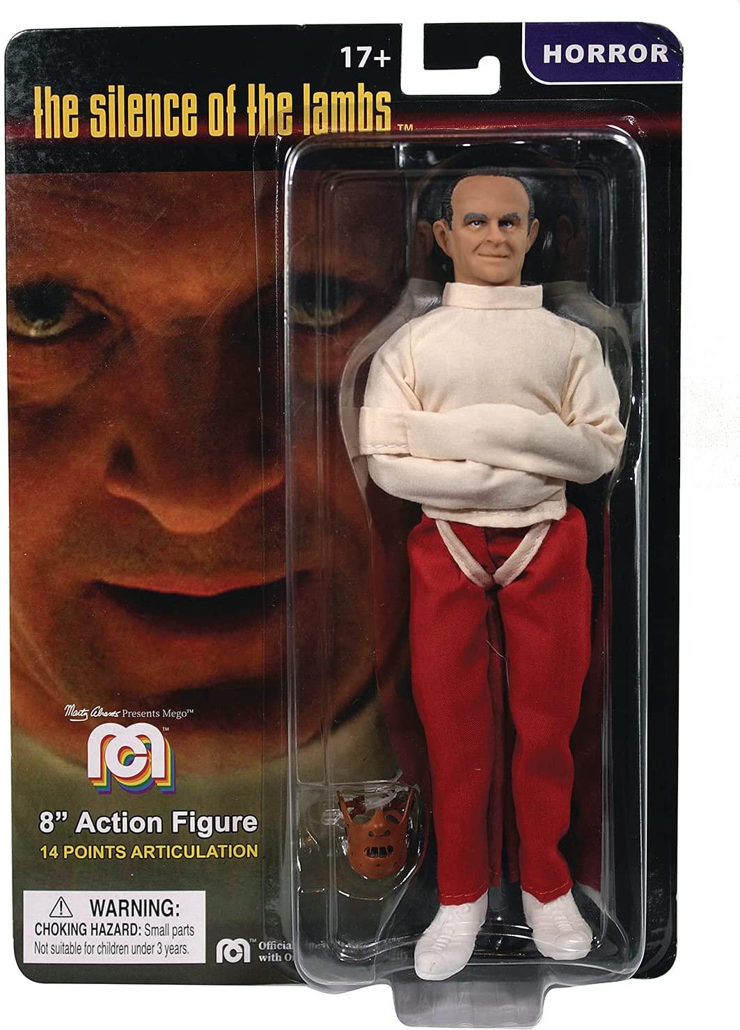Mego Action Figure Hannibal Straight Jacket Oficial Licenciado