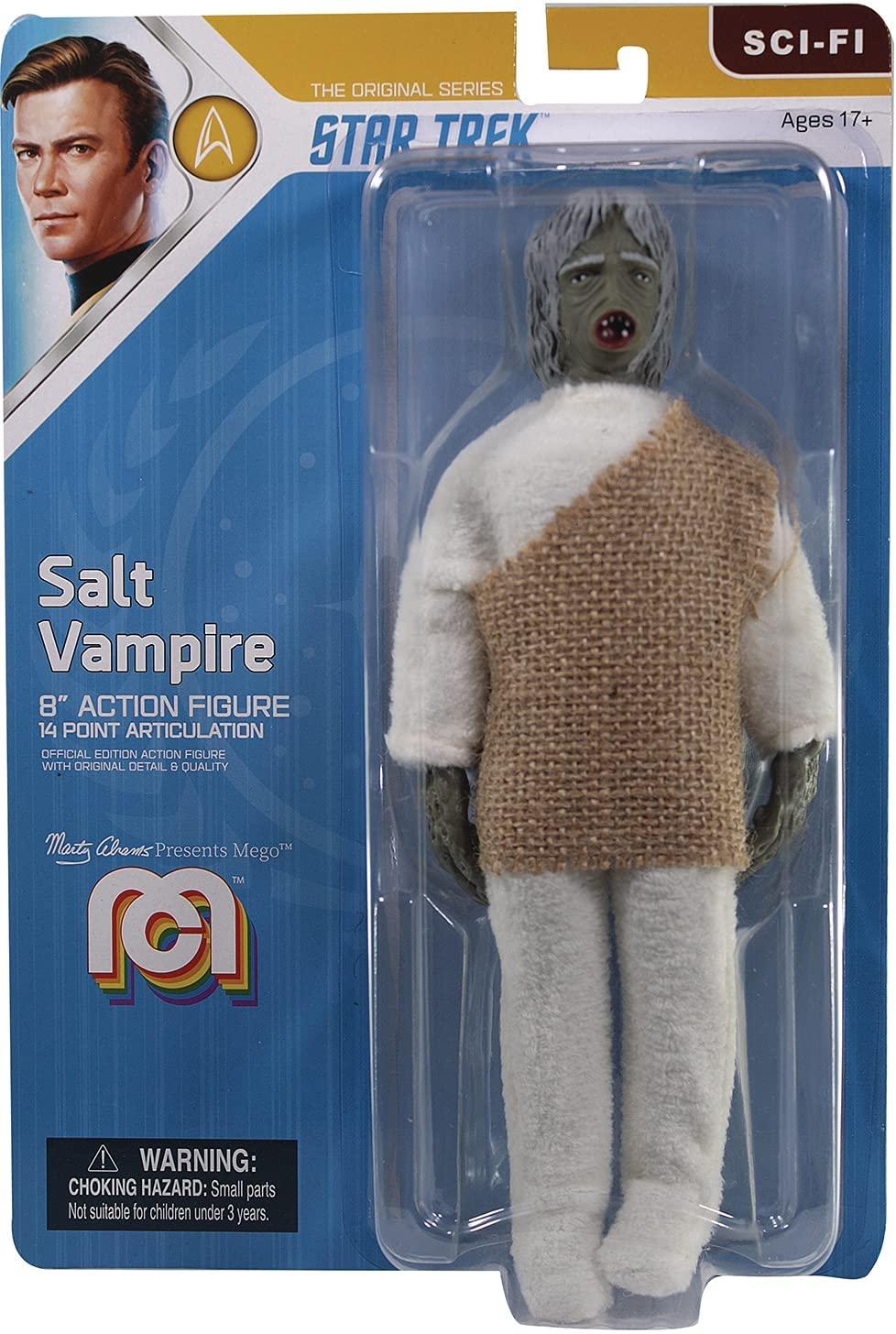 Mego Action Figure Star Trek Salt Vampire Oficial Licenciado