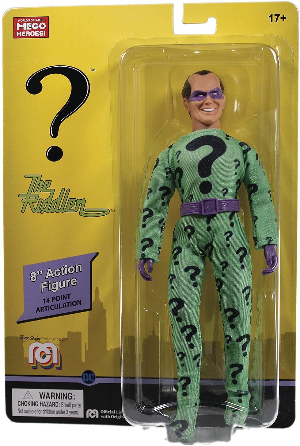 Mego Action Figure The Riddler Oficial Licenciado