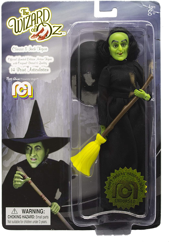 Mego Action Figure Wizard of Oz Wicked Witch 20cm Oficial Licenciado