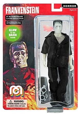 Mego Action Figures Frankenstein Brilha no Escuro Limited Edition