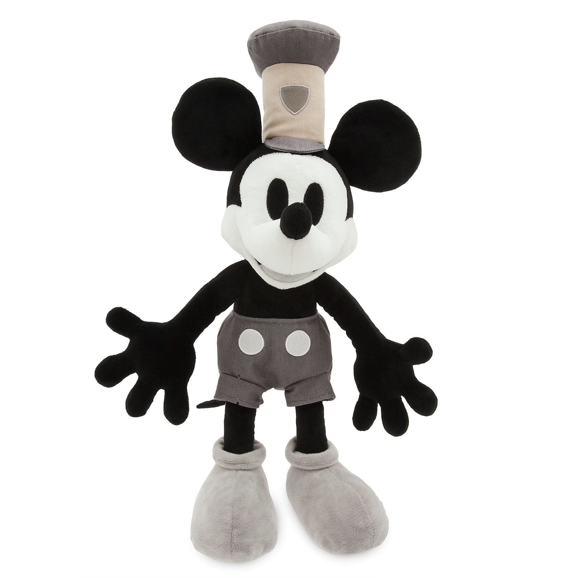 Mickey Mouse Pelúcia - Steamboat Willie  Original Disney Store