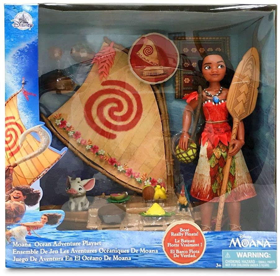 Moana Ocean Adventure Classic Doll Play Set Oficial Disney Store