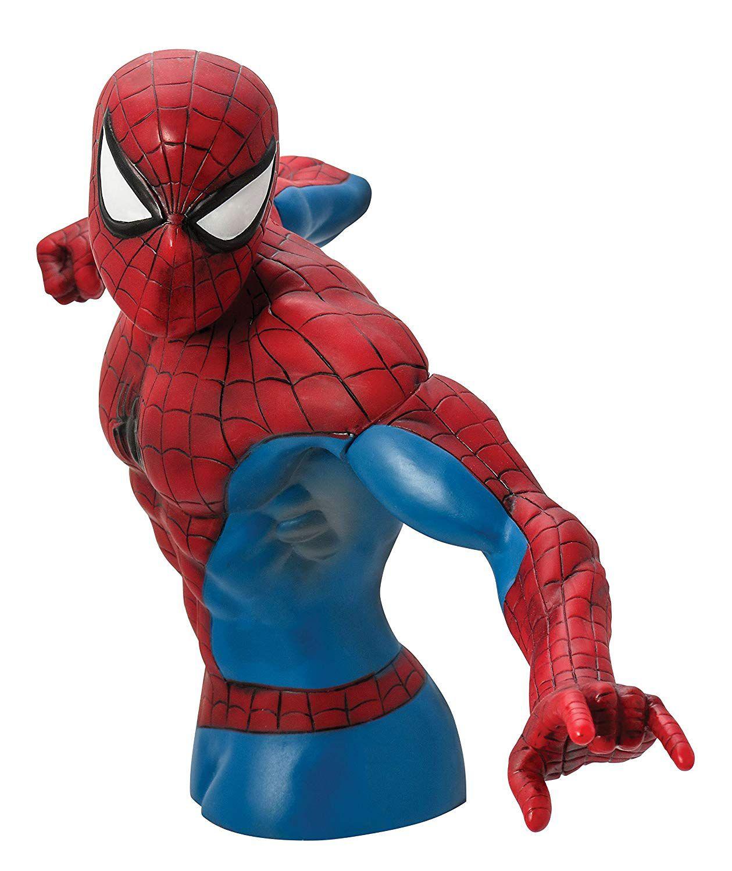 Monogram Homem Aranha Action Figure Cofre Busto