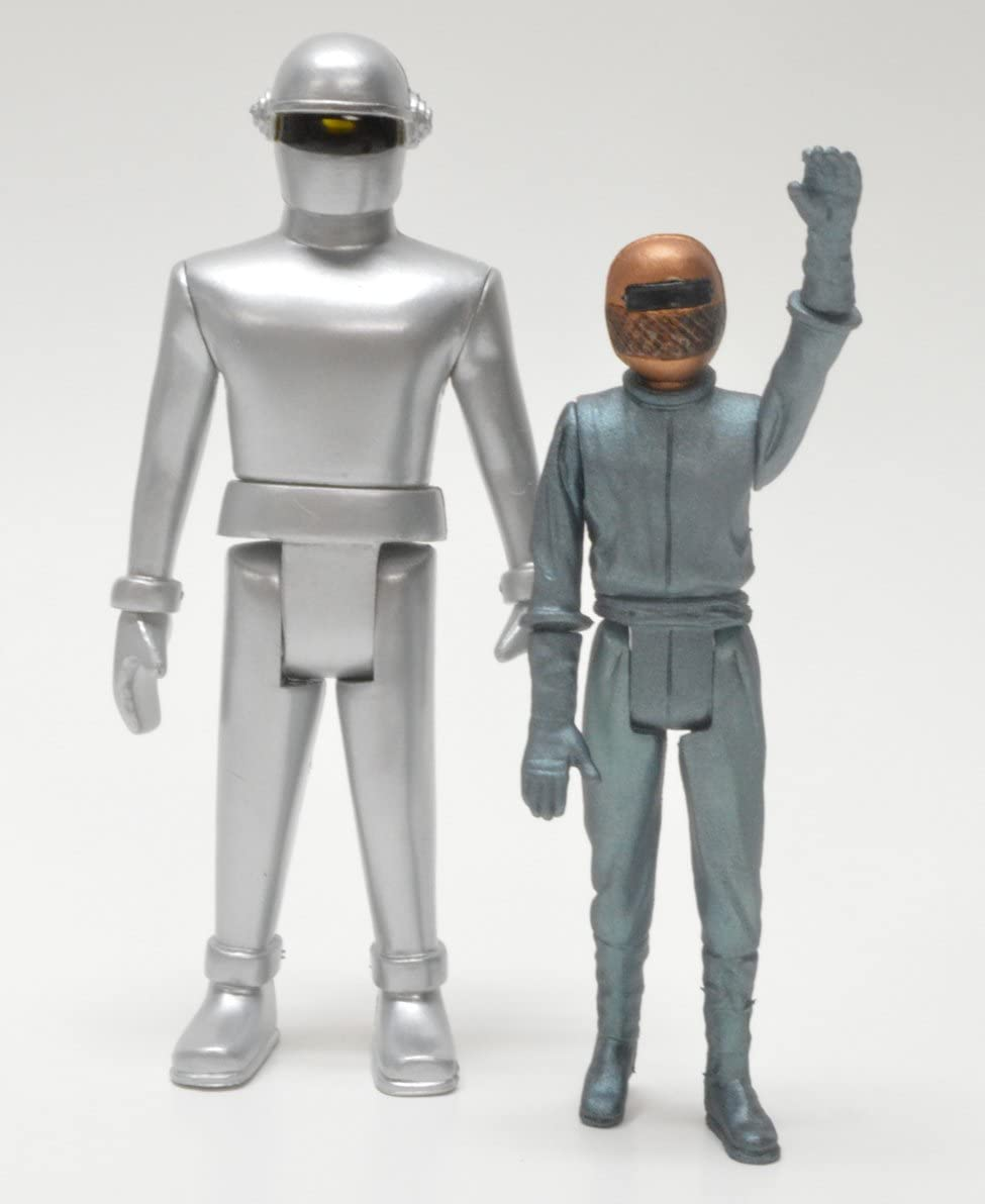 Monstarz The Day the Earth Stood Still Gort and Klaatu Retro Action