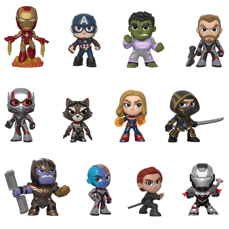 Mystery Minis Vingadores Ultimato Homem de Ferro