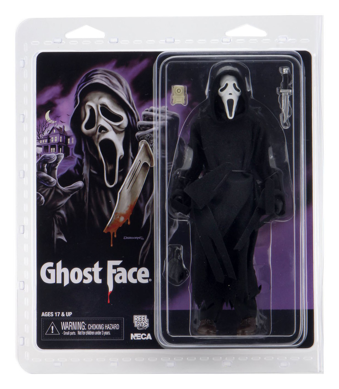 Neca Ghost Face Action Figure Oficial Licenciado