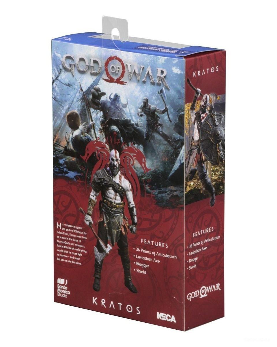 NECA God of War Kratos Action Figure Oficial Licenciado