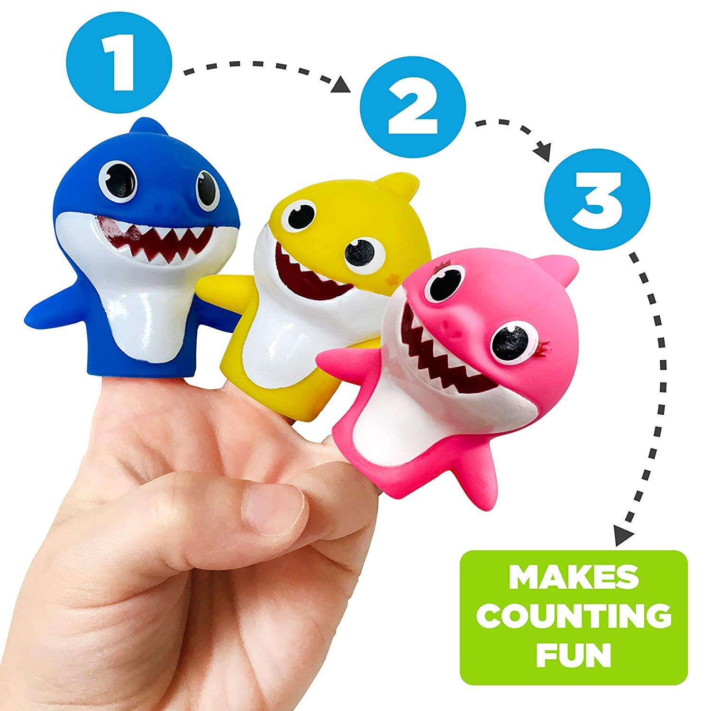 Nickelodeon Fantoches De Dedo Baby Shark Oficial Licenciado