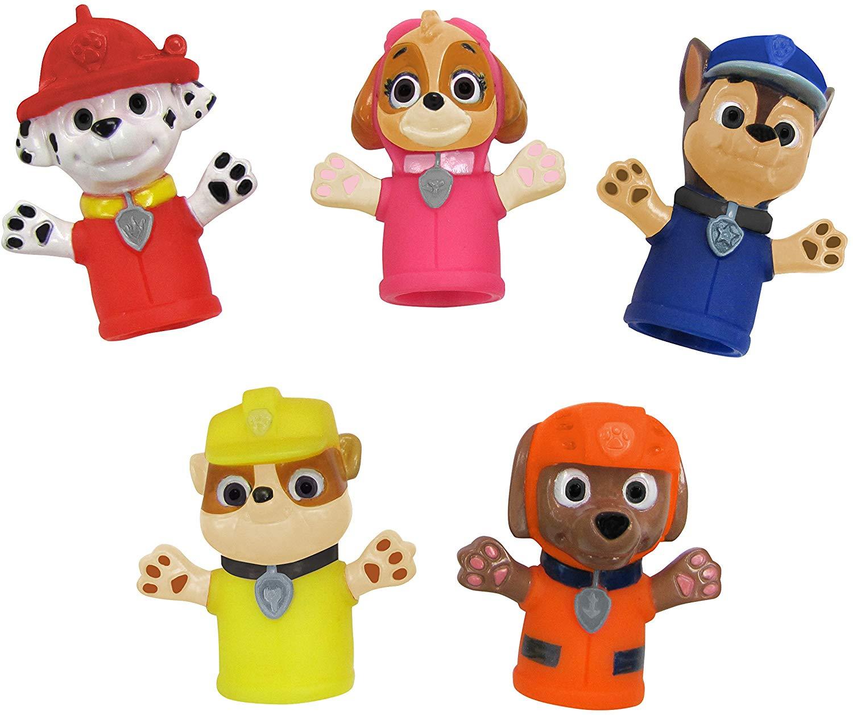 Nickelodeon Fantoches De Dedo Patrulha Canina Oficial Licenciado