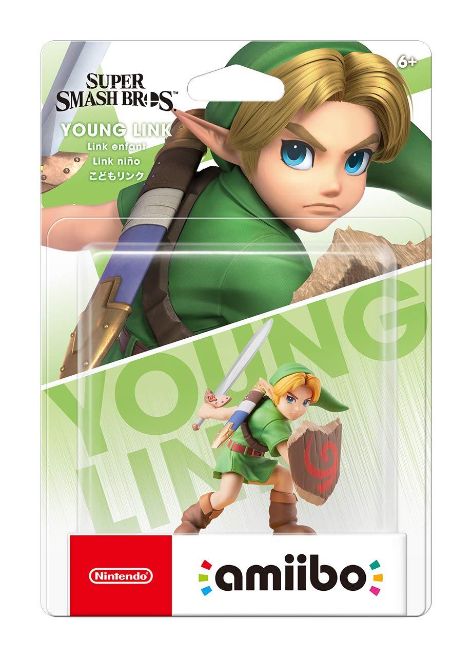 Nintendo Amiibo Young Link Oficial Licenciado