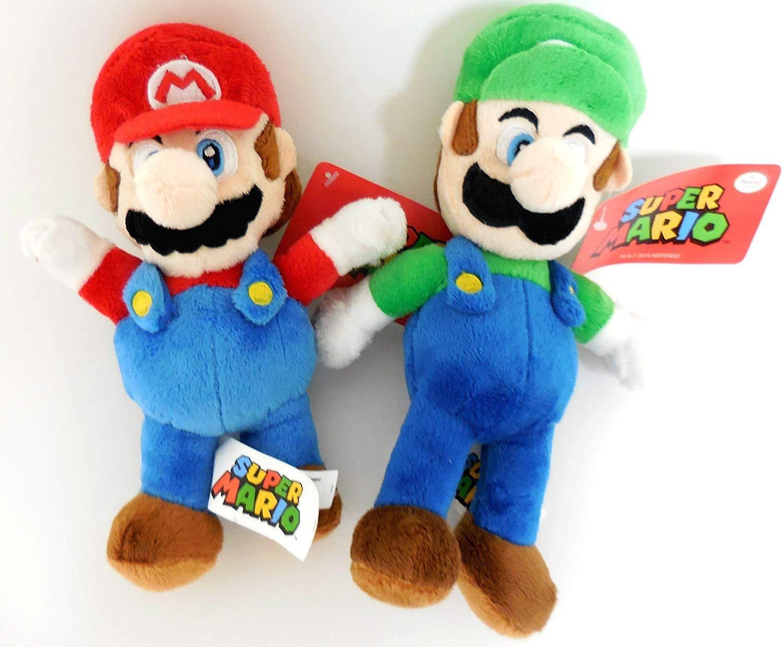 Nintendo Mario and Luigi Pelúcia Kit Set