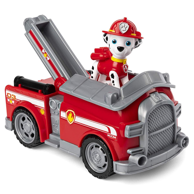 Patrulha Canina Marshall Caminhão Dos Bombeiros com Figura