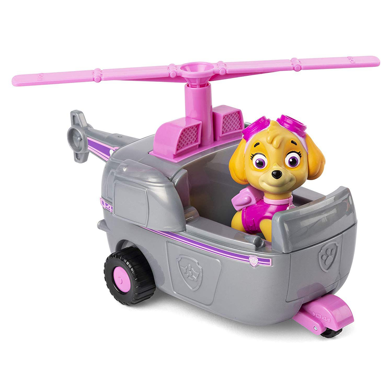 Patrulha Canina Skye Veículo De Helicóptero Com Figura