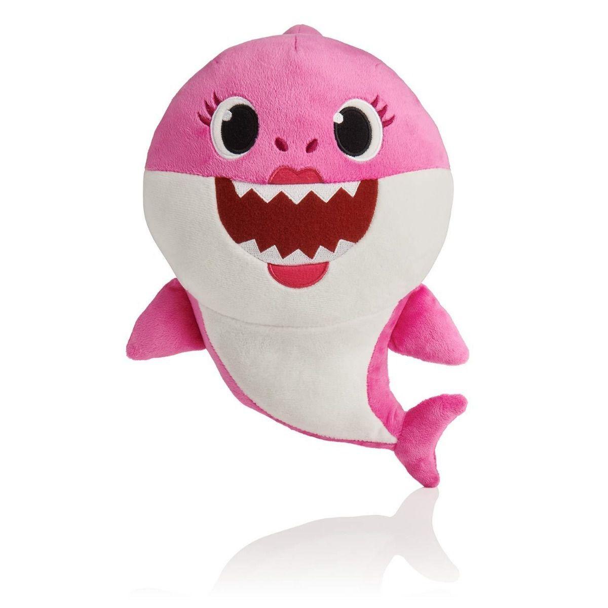 Pelúcia Baby Shark Mommy Shark