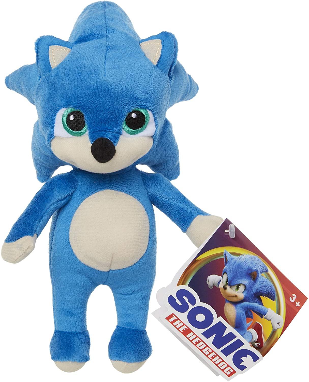 Pelúcia Sonic The Hedgehog Baby Sonic Oficial Licenciado
