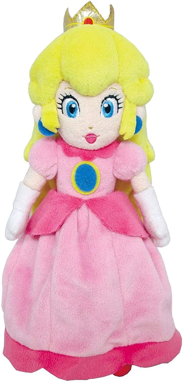 Pelúcia Super Mario All Star Collection Peach Oficial Licenciado