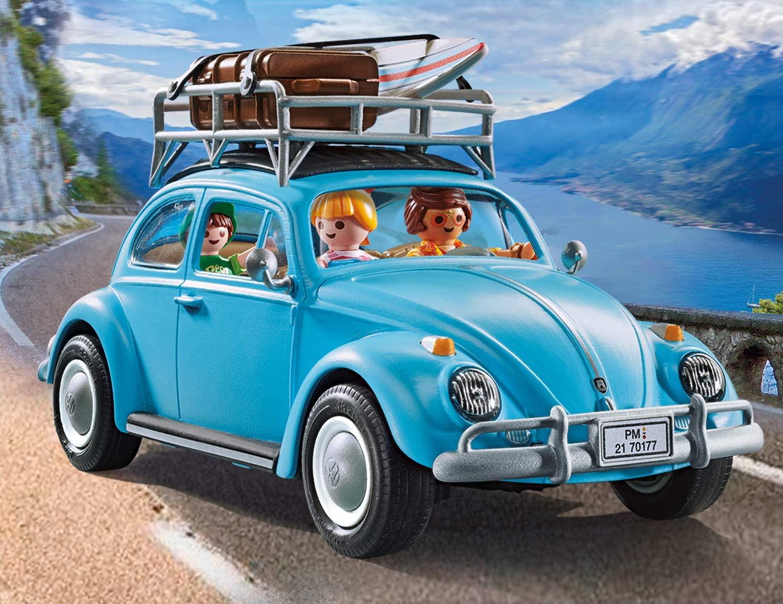 Playmobil Carro Volkswagen Fusca Azul Oficial