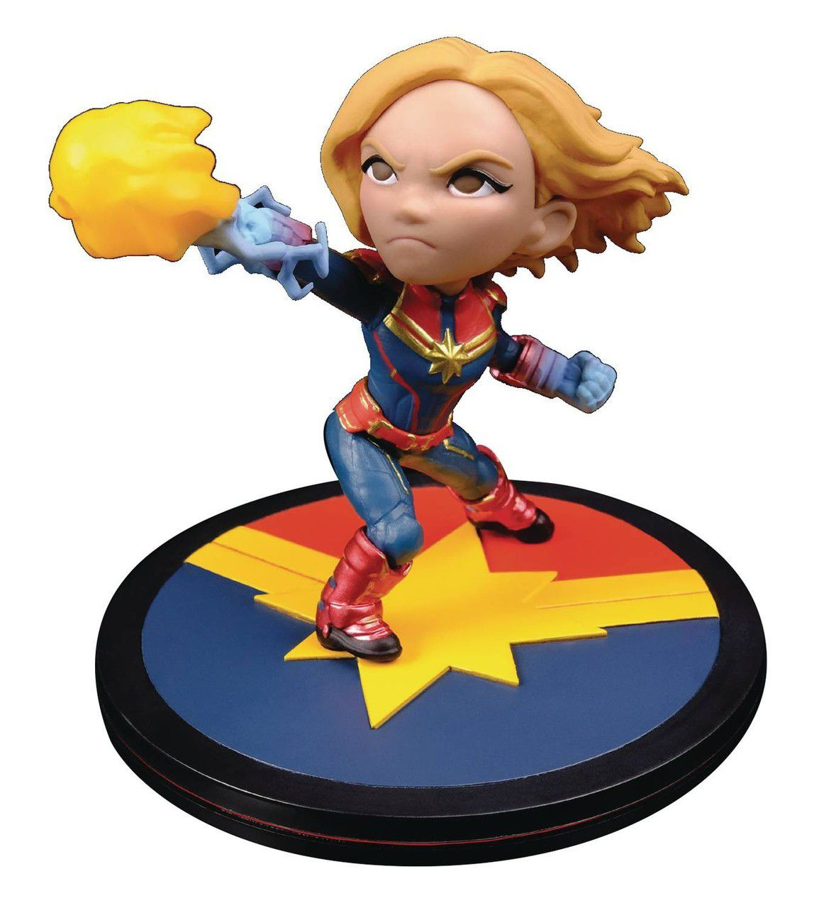 Q-fig Capitã Marvel - Quantum Mechanix Action Figure