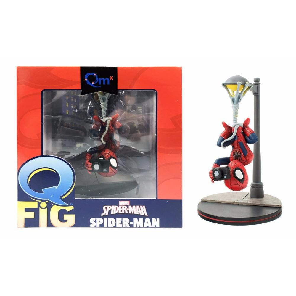 Q-fig Spider-Man - Quantum Mechanix Action Figure