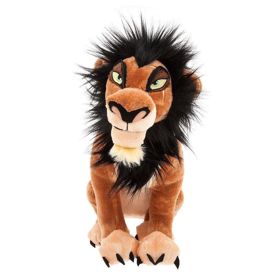 Rei leão Scar Pelúcia Original Disney Store 35cm