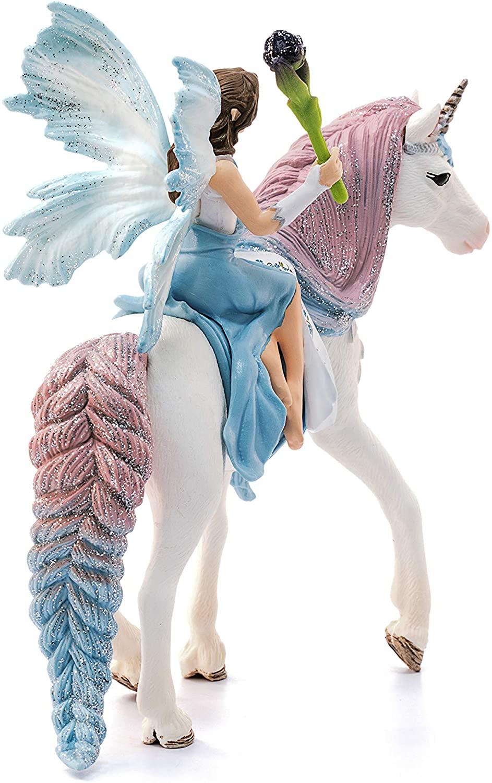 SCHLEICH Bayala Fairy Eyela with Pegasus Unicorn Oficial