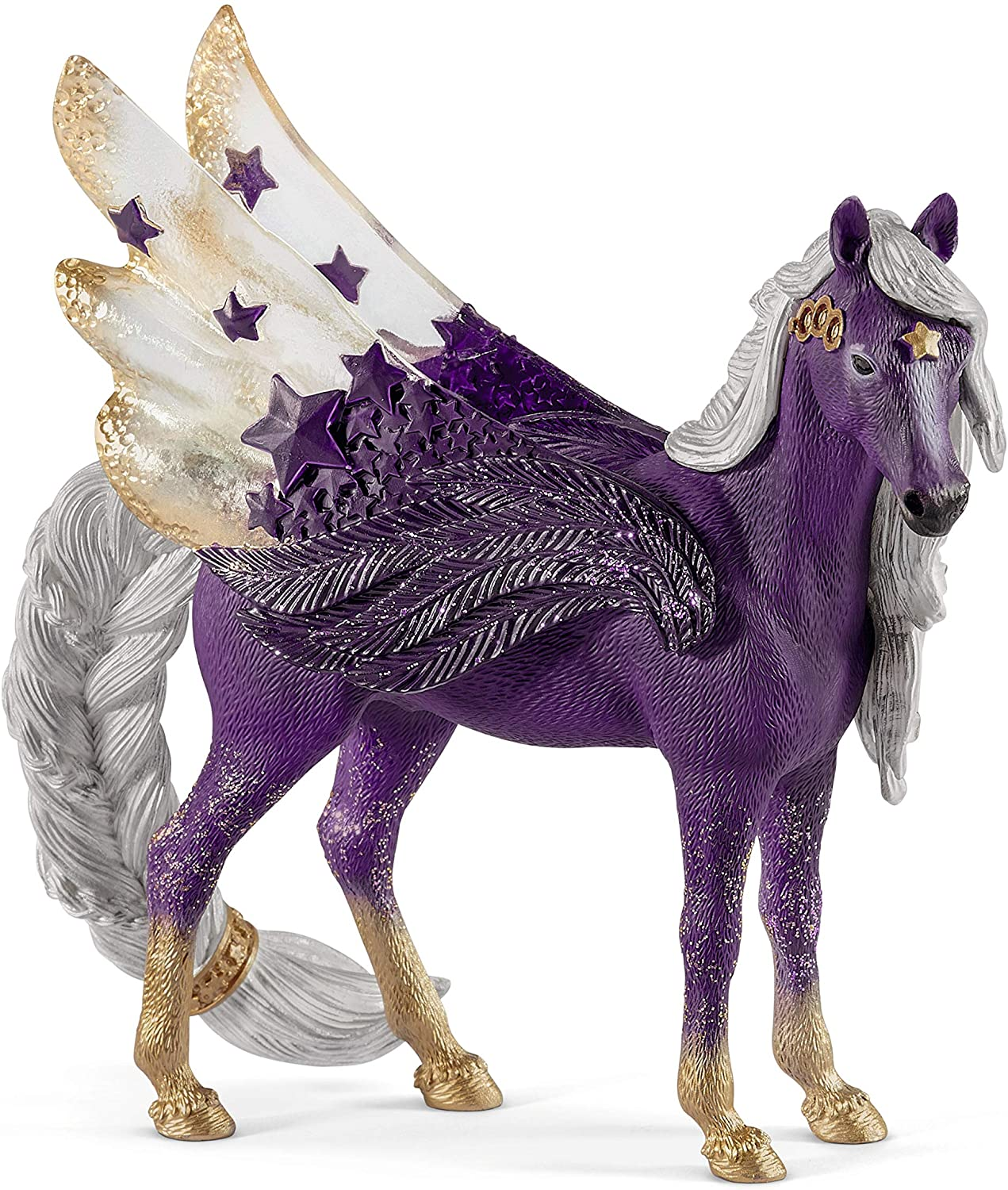 SCHLEICH bayala Sparkle Star Purple Pegasus Original