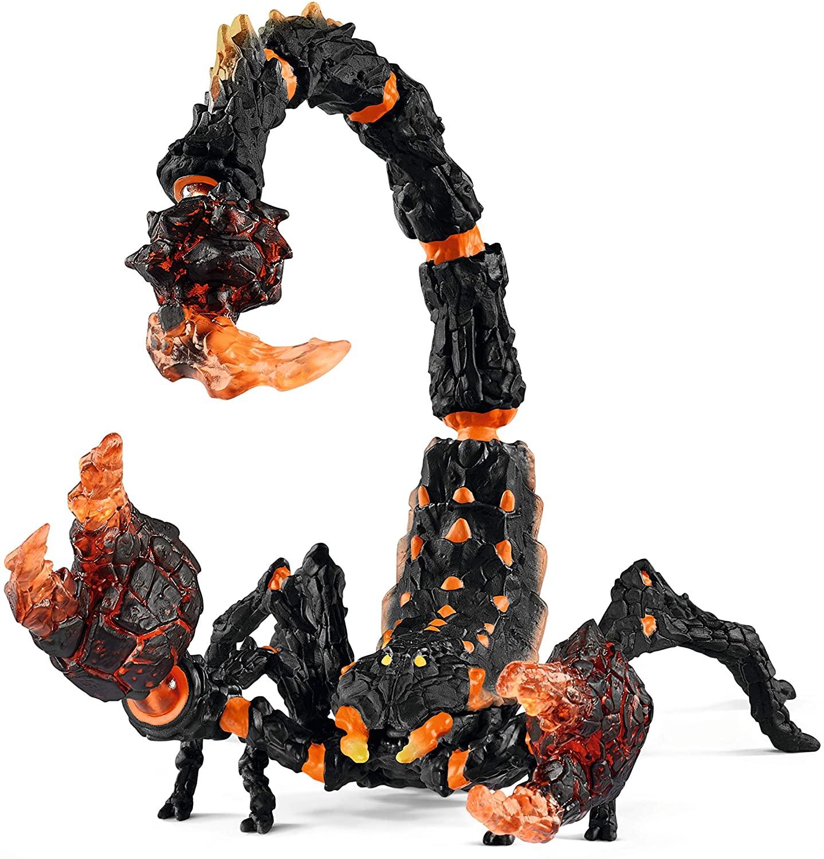SCHLEICH Eldrador Creatures Lava Scorpion Action Figure Oficial