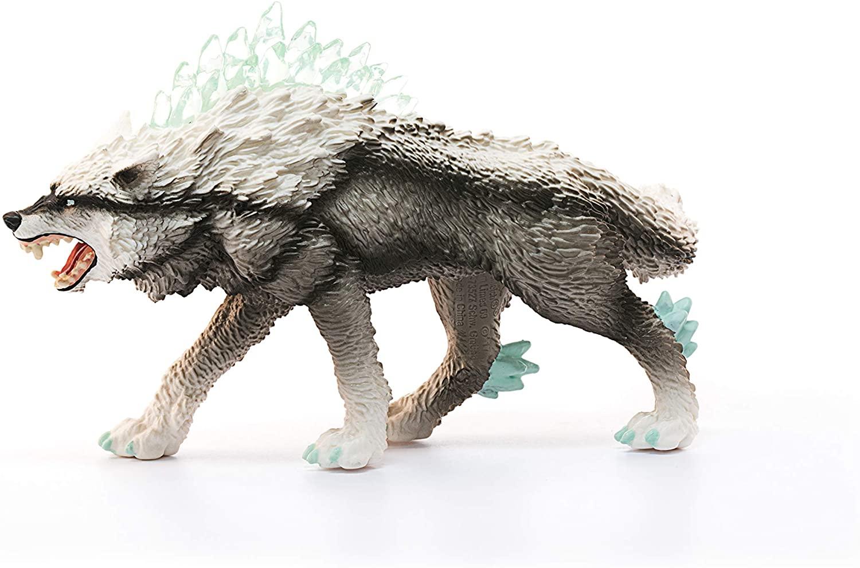 SCHLEICH Eldrador Creatures Snow Wolf Oficial