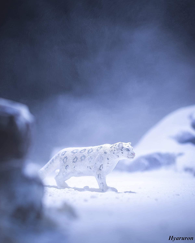Schleich North America Leopardo Branco Oficial Licenciado