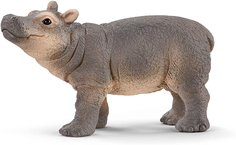 Schleich Wild Life Filhote de Hipopótamo Oficial licenciado