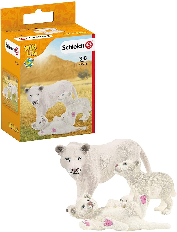 Schleich Wild Life Leoa c/ Baby Oficial Licenciado