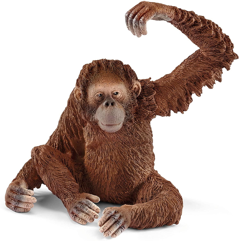 Schleich Wild Life Orangotango Fêmea Oficial Licenciado