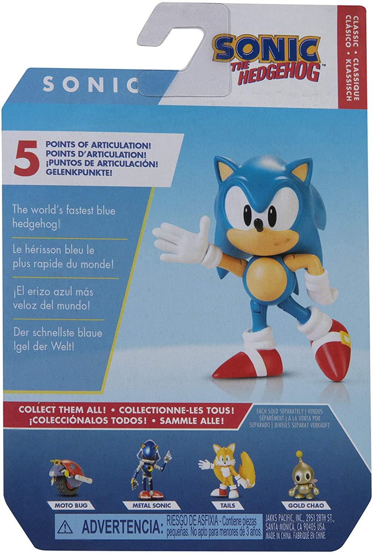 Sonic The Hedgehog Action Figure 7cm Oficial Licenciado