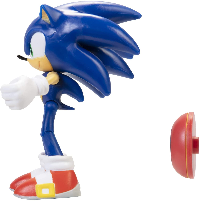 Sonic The Hedgehog Action Figure com Star Spring Oficial Licenciado