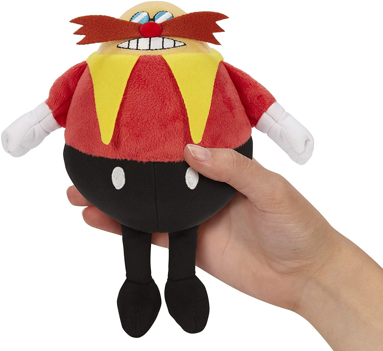 Sonic The Hedgehog Dr. Robotnik Pelúcia Oficial Licenciado