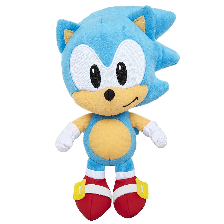 Sonic The Hedgehog Pelúcia 20cm Oficial Licenciado