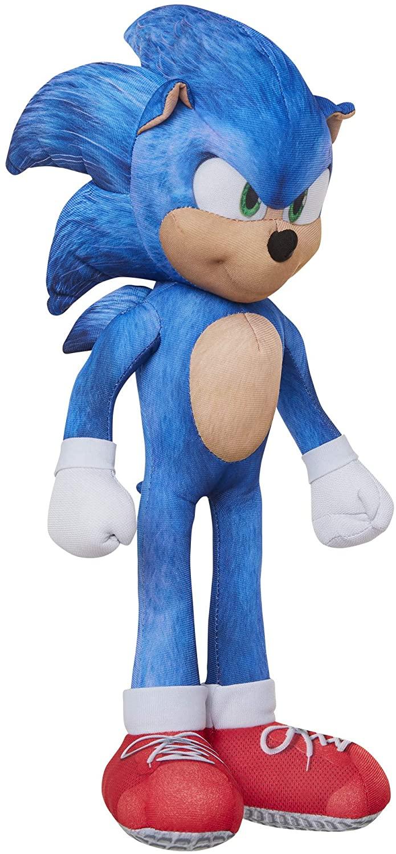 Sonic The Hedgehog Pelúcia com 10 Diferentes Sons 33cm Oficial Licenciado