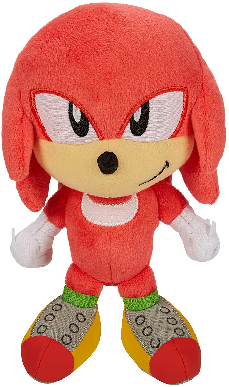 Sonic The Hedgehog Pelúcia Knuckles Oficial Licenciado