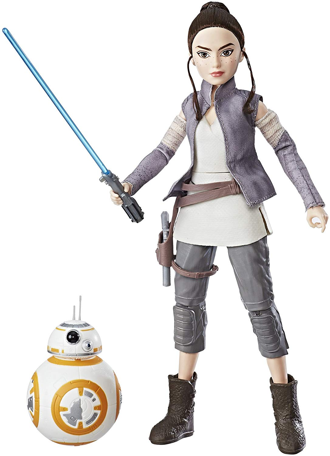 Star Wars Forces of Destiny Rey of Jakku and BB-8 Oficial Licenciado