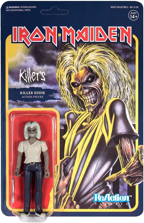 Super7 Iron Maiden Killers Eddie Reaction Oficial Licenciado