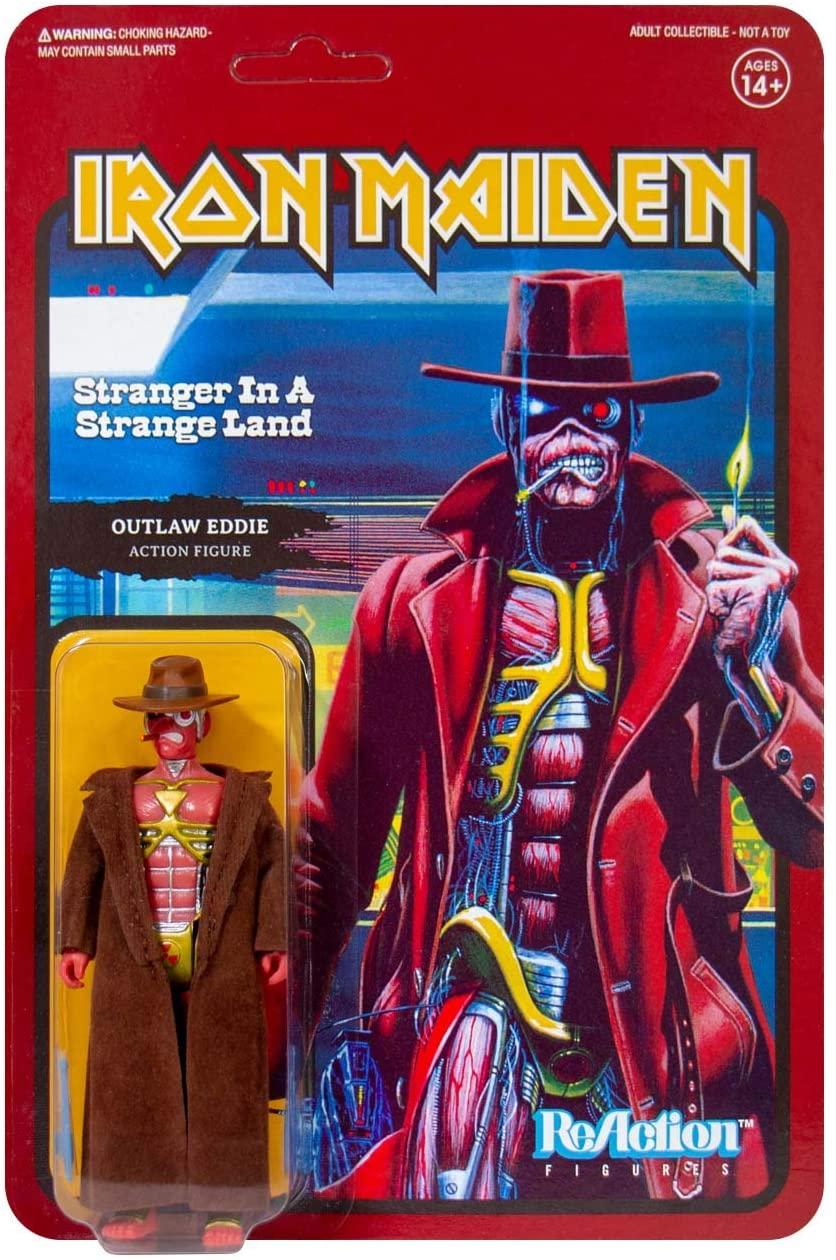 Super7 Iron Maiden Strange in a Strange Land Reaction Oficial Licenciado
