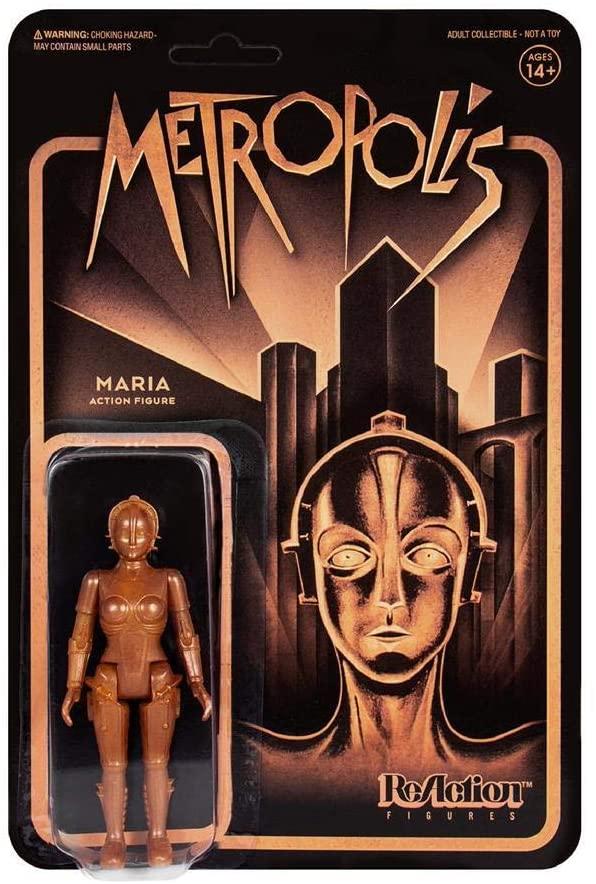 SUPER7 Metropolis Gold Maria Reaction