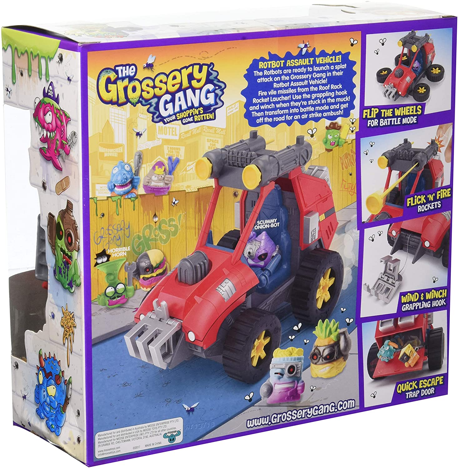 The Grossery Gang 2in1 Rotbot Assault Vehicle
