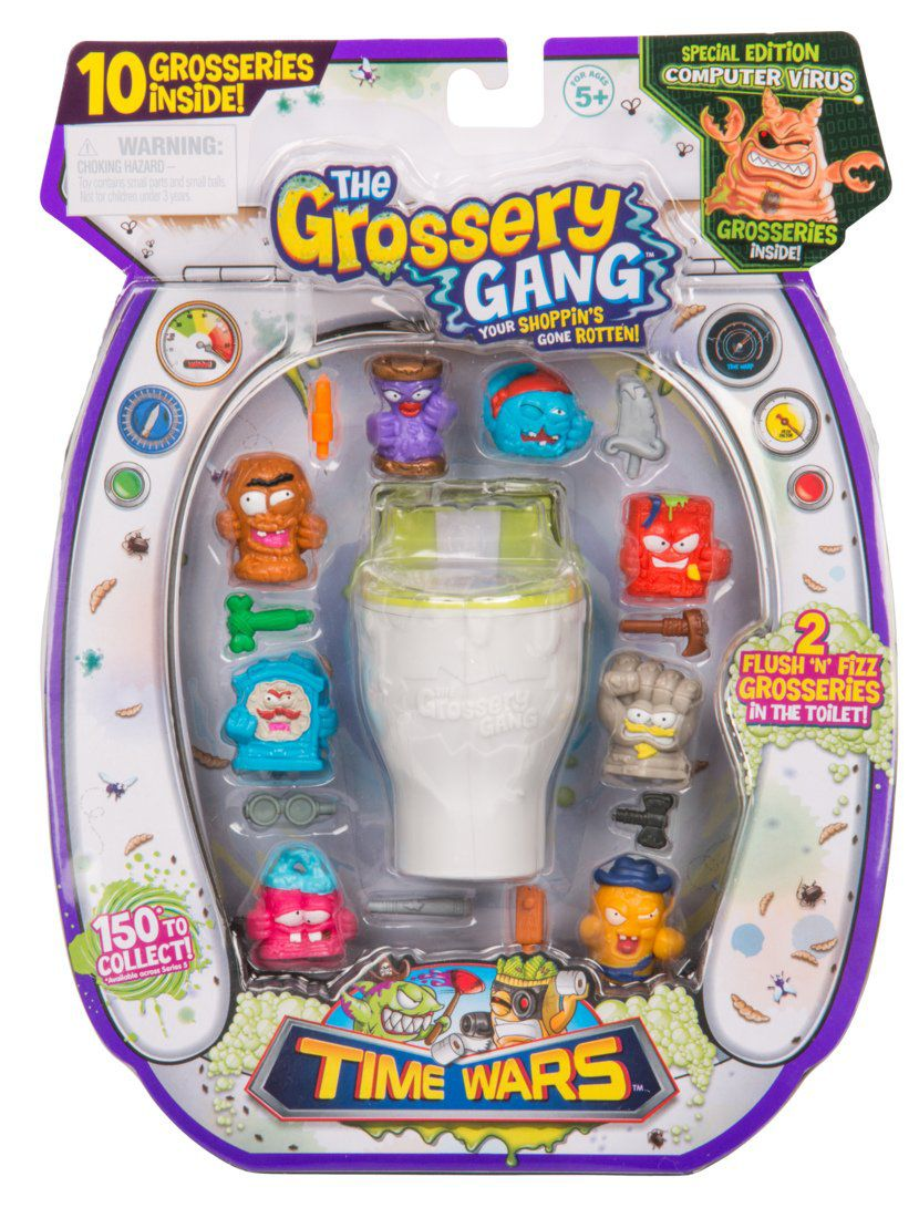 The Grossery Gang The Time Wars Large Pack