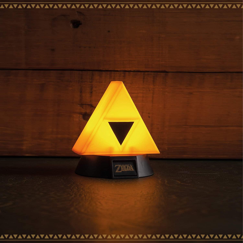 The Legend of Zelda Triforce 3D Light Oficial Licenciado