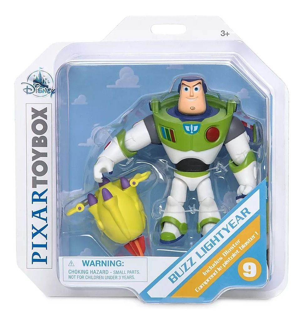 Toy Story 4 Buzz Lightyear PIXAR Toybox Exclusivo Disney Store