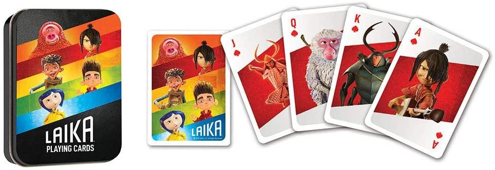 Usaopoly Baralho dos Personagens da Laika Studios Oficial Licenciado