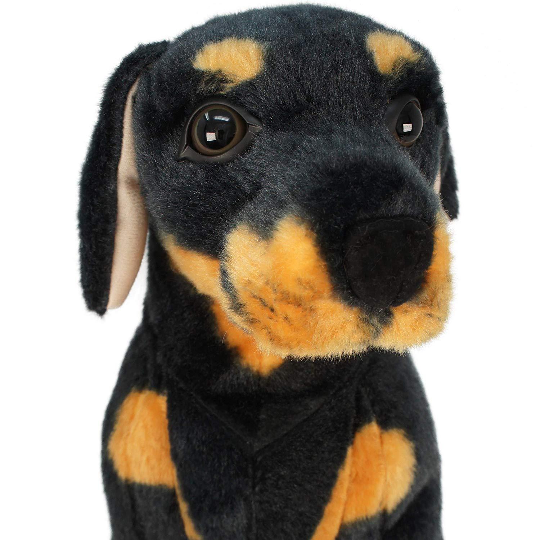 Viahart The Rottweiler Pelúcia Oficial Licenciado
